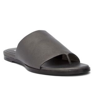 NEW Eileen Fisher Leather Mere Sandals Slides